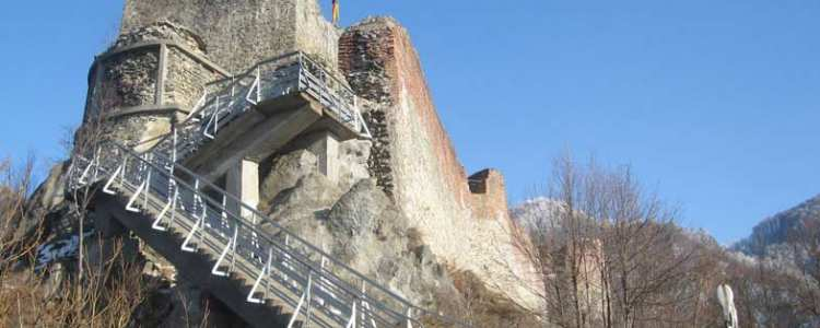 Cetatea Poienari (secolul XV)